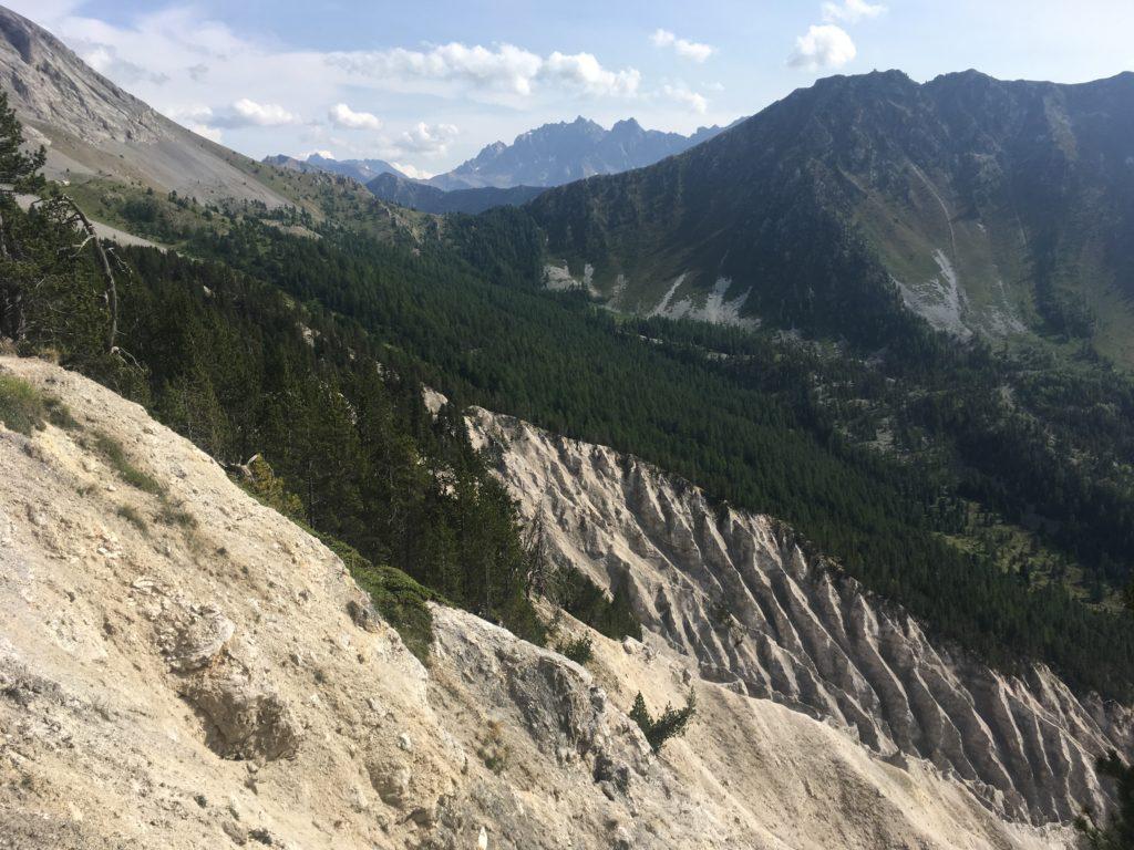 L'érosion dans les Alpes