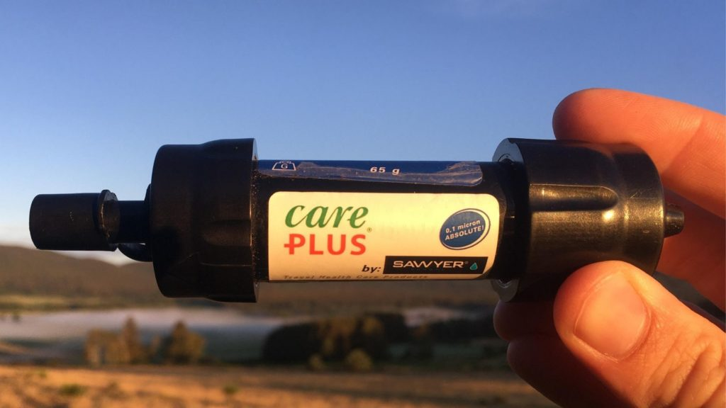 Le Mini Filtre Care Plus de Sawyer : légèreté et forte autonomie