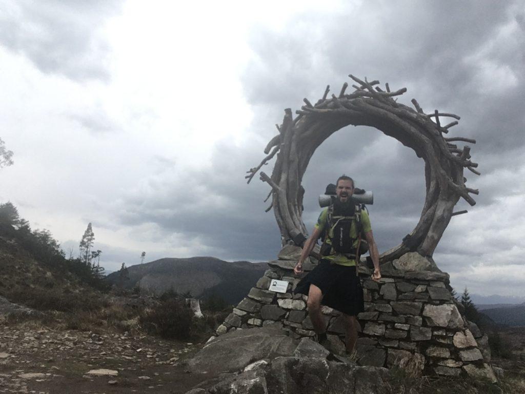 Trek en Ecosse en Kilt sur le Great Glen Way