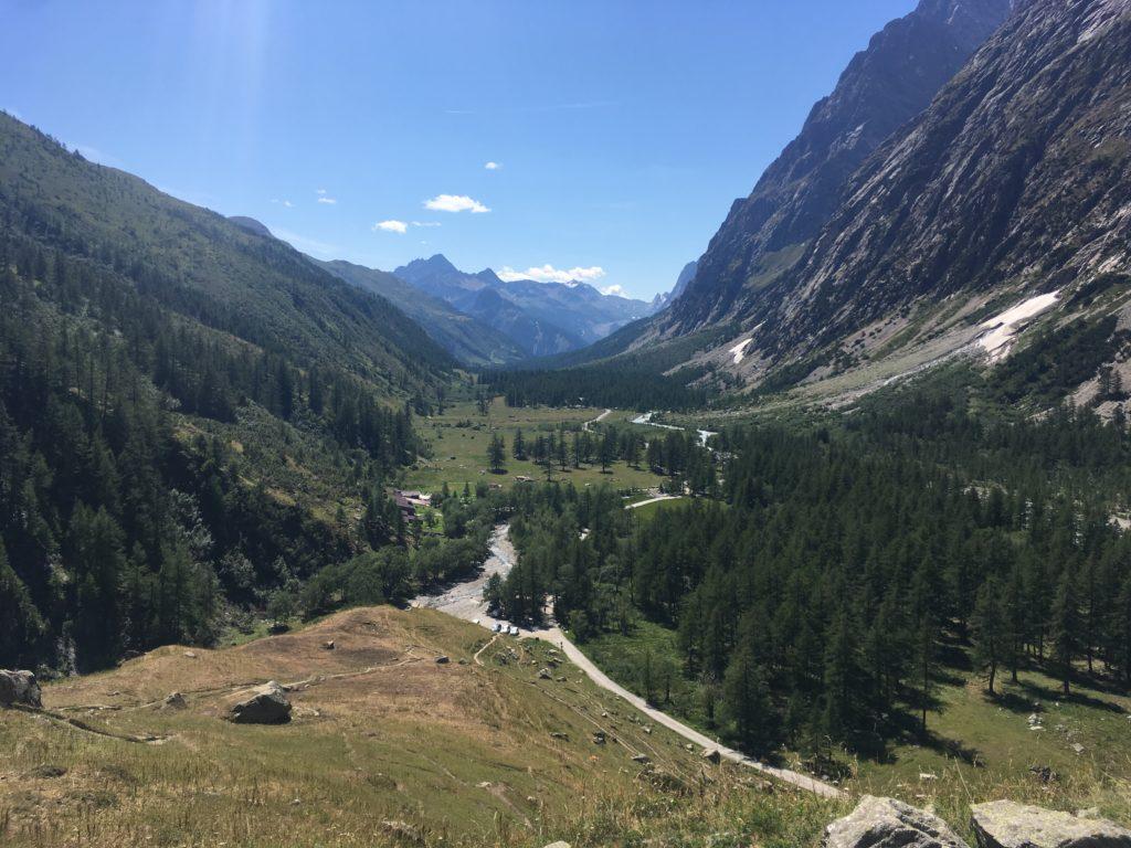 LE TMB au Col du Grand Ferret
