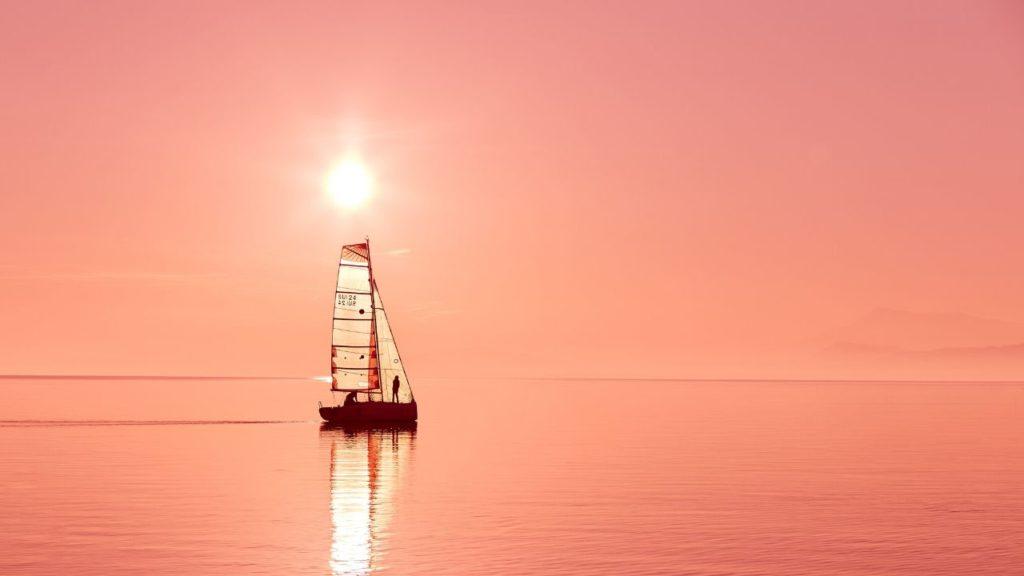 Seul au milieu de l'océan...