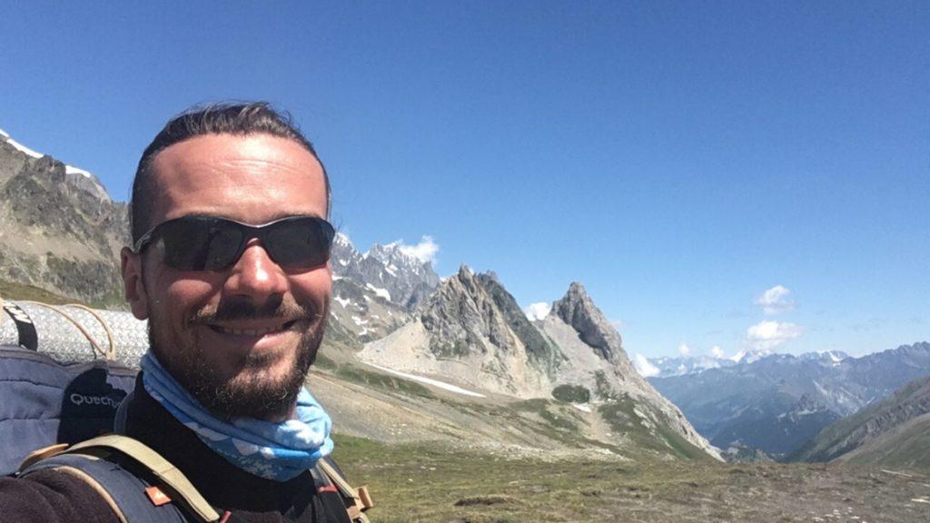 Le passage du Col de la Seigne...
