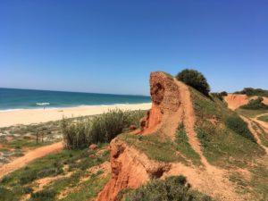 Sable ocre en Algarve