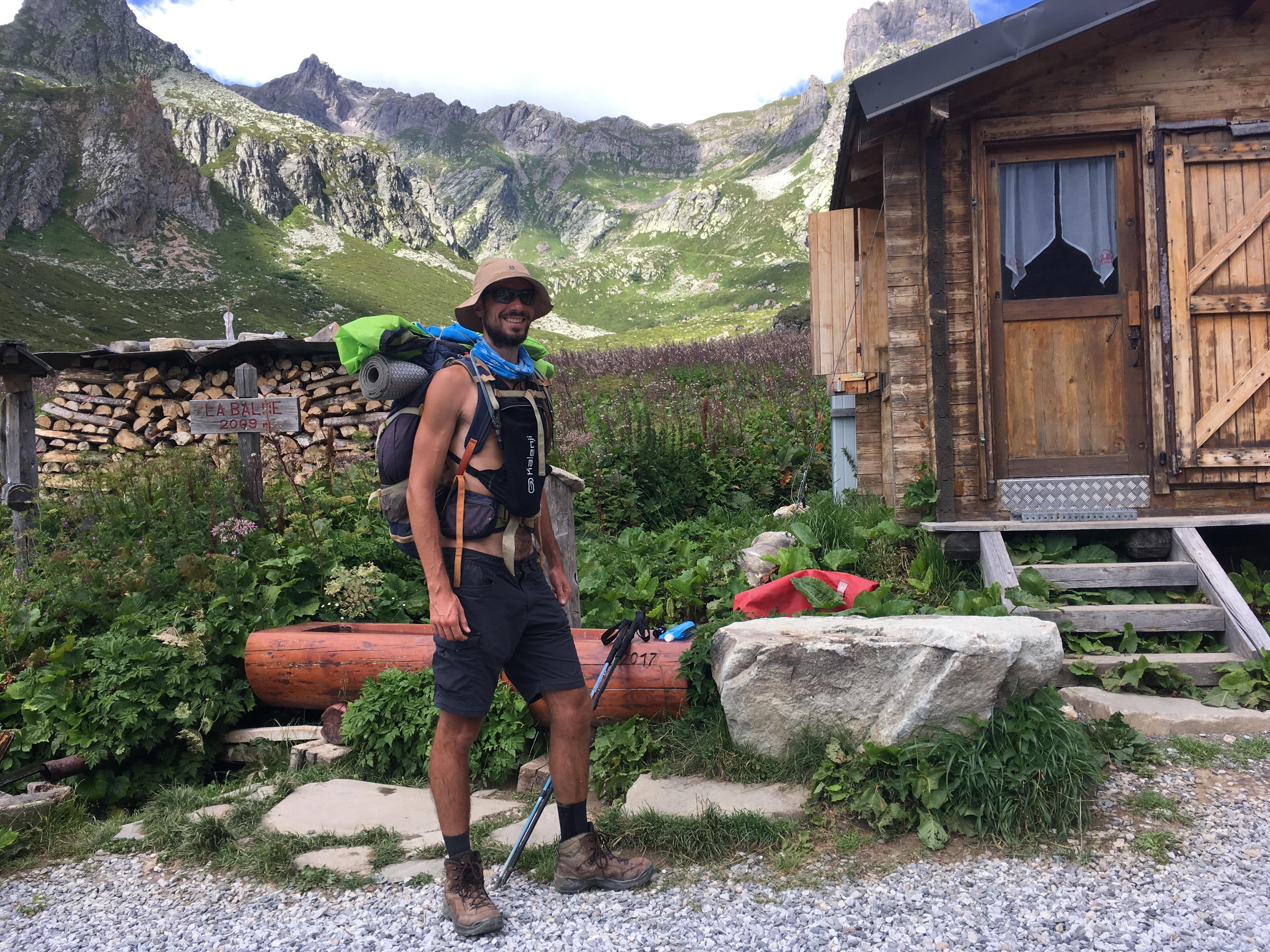Camelbag en Randonnée