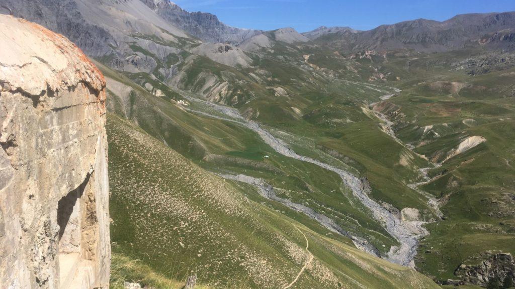 Le Col des Fourches, bien gardé...