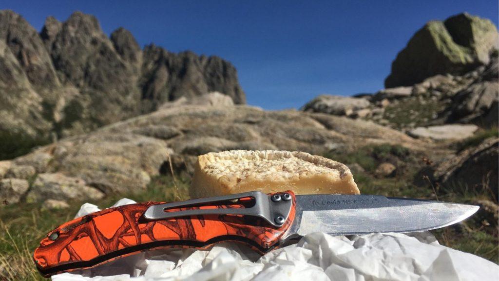 Les lipides en randonnée, avec un bon petit fromage Corse