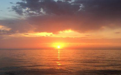 Soleil sur la méditérannée